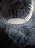 Détecteur de fumée Photos libres de droits