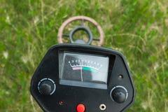 Détecteur de métaux en fonction Image libre de droits