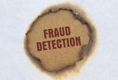 Détection de fraude des textes photographie stock libre de droits