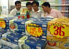 Détection des produits agricoles Images stock