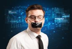 Détection et reconnaissance de visage photo libre de droits