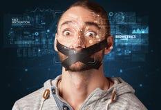 Détection et reconnaissance de visage images libres de droits