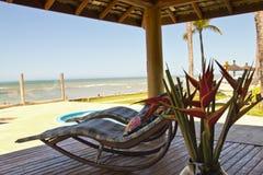 Détendez à la station de vacances d'Eco de dAjuda d'Arraial Photographie stock libre de droits