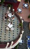 Détendez à la terrasse Image libre de droits