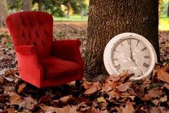 Détendez, êtes fond de vintage de concept de temps de chute Images stock