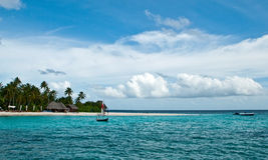 Détendez en Maldives Photos stock