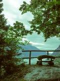 Détendez en vallée de Daone Images stock