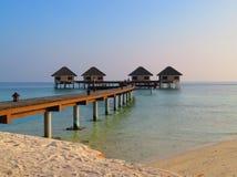Détendez et luxe dans la station de vacances images stock