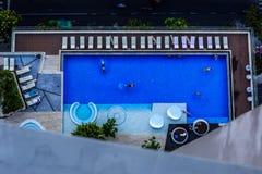 Détendez et nagez Image libre de droits