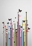 Détendez la mouche de couleur illustration libre de droits