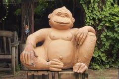 Détendez le singe Images libres de droits