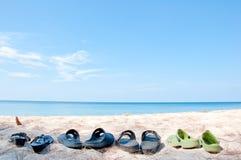 Détendez sur la plage Photos libres de droits