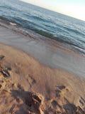 Détendez sur la plage image libre de droits