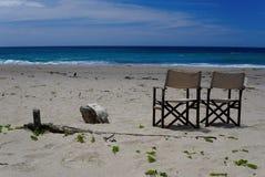 Détendez sur la plage photographie stock libre de droits