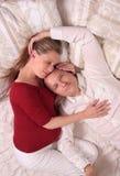 détente aimante de couples Photo libre de droits