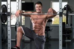 Détente au centre de fitness Photos stock