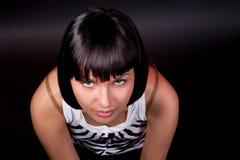 Détente caucasienne avec du charme de fille Images libres de droits