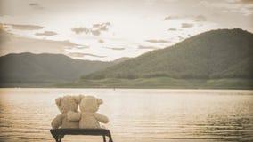 Détente de Teddybears Images libres de droits