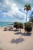 Détente sur la plage Photos libres de droits