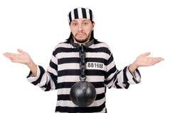 Détenu de prison image stock