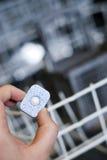 Détergent de lave-vaisselle images stock