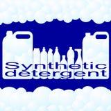 Détergent synthétique Image stock