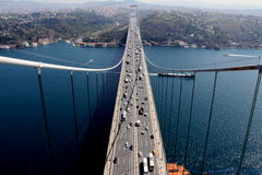 Détroit d'Istanbul photos stock