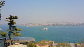 Détroit de Bosphorus Photographie stock libre de droits