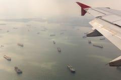 Détroit du Malacca photo stock