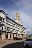 Détroits de Penang commerçant la construction Images libres de droits