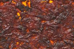 Détruisez le modèle fondu de nature Lave abstraite texturisée illustration stock