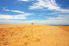 Détruit dans le désert Photographie stock libre de droits