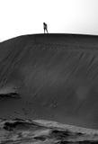 Détruit dans le désert Photos stock