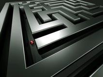 Détruit dans le labyrinthe Photo libre de droits