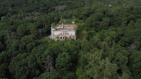 A détruit le domaine de Golitsyn Les ruines du XVIIIème siècle Les vieux bâtiments sont des ruines Domaine abandonné de Golitsyn  banque de vidéos