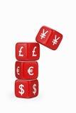 Dévaluation des yuans/des Yens Illustration Stock
