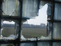 Dévastation industrielle Image stock