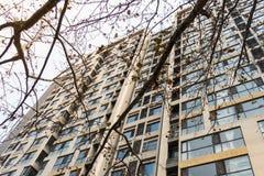 Développement ayant beaucoup d'étages grand chinois Spac vivant d'immeuble Image libre de droits