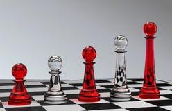 Développement d'échecs Images libres de droits