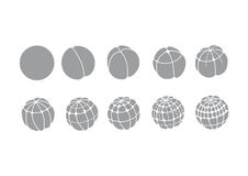 Développement d'ovule humain Photo libre de droits