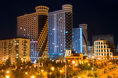 Développement de Batumi, la Géorgie Photographie stock libre de droits