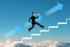 Développement de la vie professionnelle et concept de promotion images stock