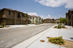 Développement de logement de la Californie, Indio photo stock
