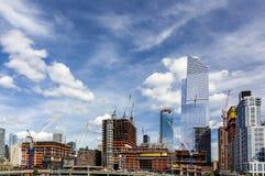 Développement de ville Images stock