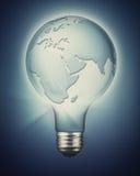 Développement durable et puissance renouvelable photographie stock libre de droits