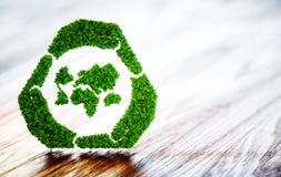 Développement durable vert du monde illustration de vecteur