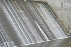 Déversoir de barrage de tambakboyo photo libre de droits