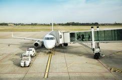 Déviation dans le domaine d'aéroport Photographie stock