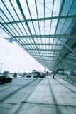Déviation de vol sur l'aéroport Photo libre de droits