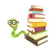 Dévoreur de livres Photo libre de droits